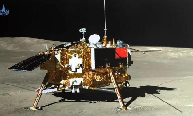Nouvelle découverte de la sonde Chang'e-4