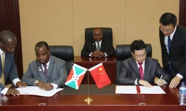 Les échanges entre la Chine et le Burundi se renforcent