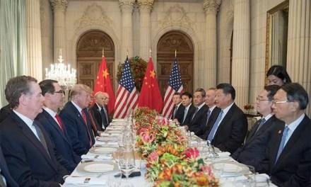 Rencontre entre responsables politiques chinois et américains