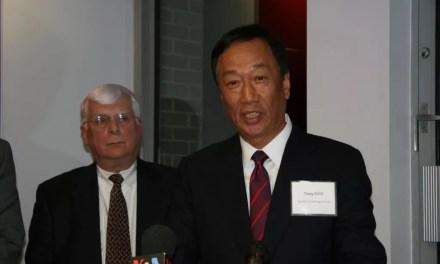 Le président de Foxconn envisage la présidence de Taïwan