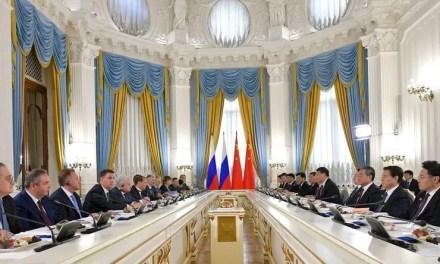 Objectif 200 milliards d'échange entre la Chine et la Russie