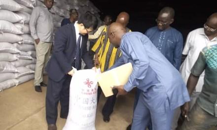Burkina Faso: la Chine offre 5 000 tonnes de riz aux populations vulnérables