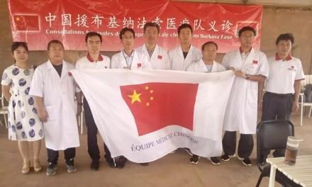 Burkina: des médecins chinois au chevet des malades de Mankoula