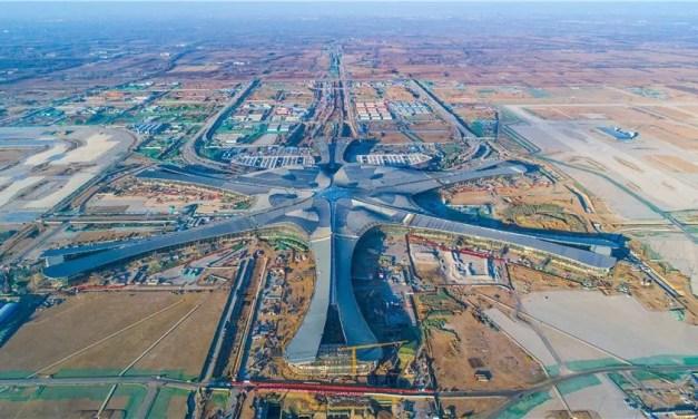 Fin des travaux du plus grand aéroport du monde