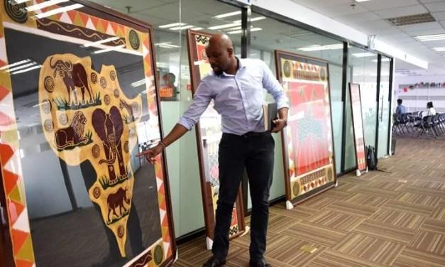 De jeunes pousses africaines fleurissent en Chine