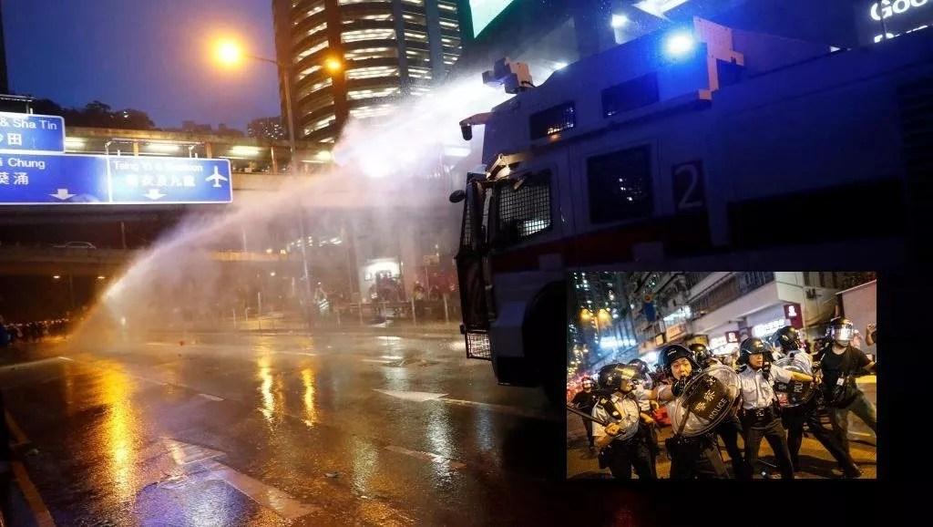 Usage d'une arme à feu : la faute aux manifestants
