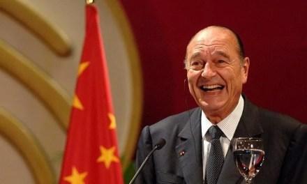 La Chine dit au revoir à «l'ami» Jacques Chirac