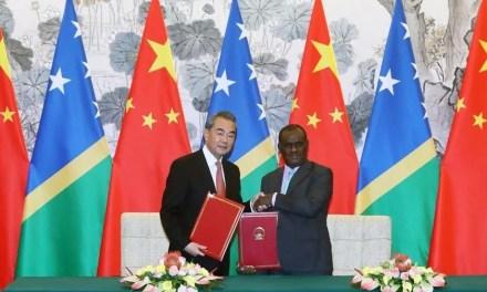 Les îles Salomon renforcent ses rapports avec la Chine
