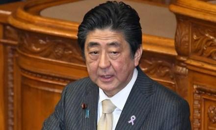 Shinzo Abe rassure sur l'évolution de l'épidémie