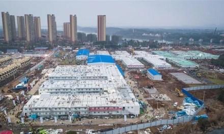 L'hôpital construit en dix jours est terminé
