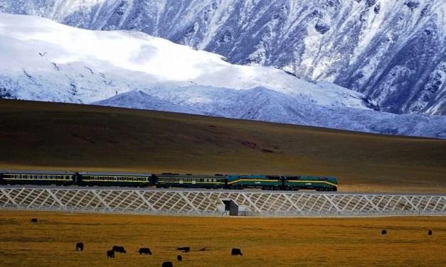 Le Qinghai et Xinjiang se rejoignent grâce à une nouvelle connexion ferroviaire