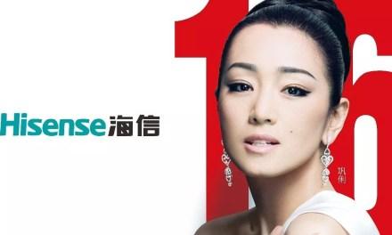 L'actrice Gong Li devient la nouvelle ambassadrice de la marque Hisense