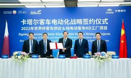 Le chinois Yutong Bus fournira 1 002 bus durant la Coupe du monde 2022