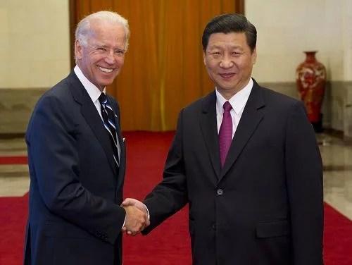 Joe Biden s'engage à empêcher la Chine de devenir le premier pays du monde