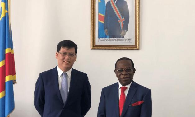 La Chine félicite Modeste Bahati Lukwebo pour sa réélection à la tête du sénat congolais