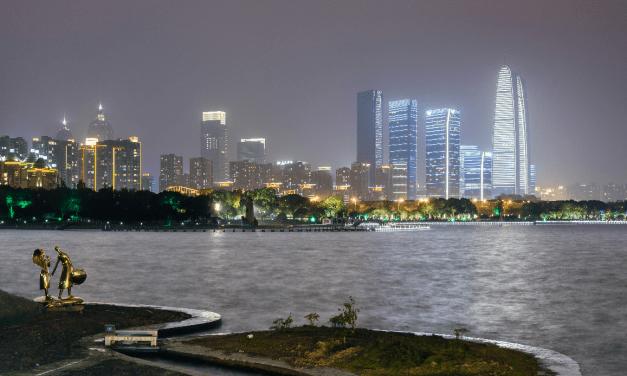 En Chine, une ville neutre en carbone prévue sur la rive gauche de la rivière Suzhou
