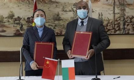 La Chine fait des dons à Madagascar