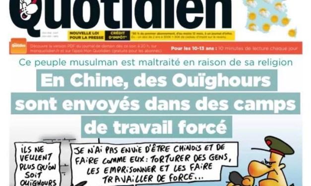 Colère de l'ambassade de Chine en France contre la publication d'un article sur le Xinjiang