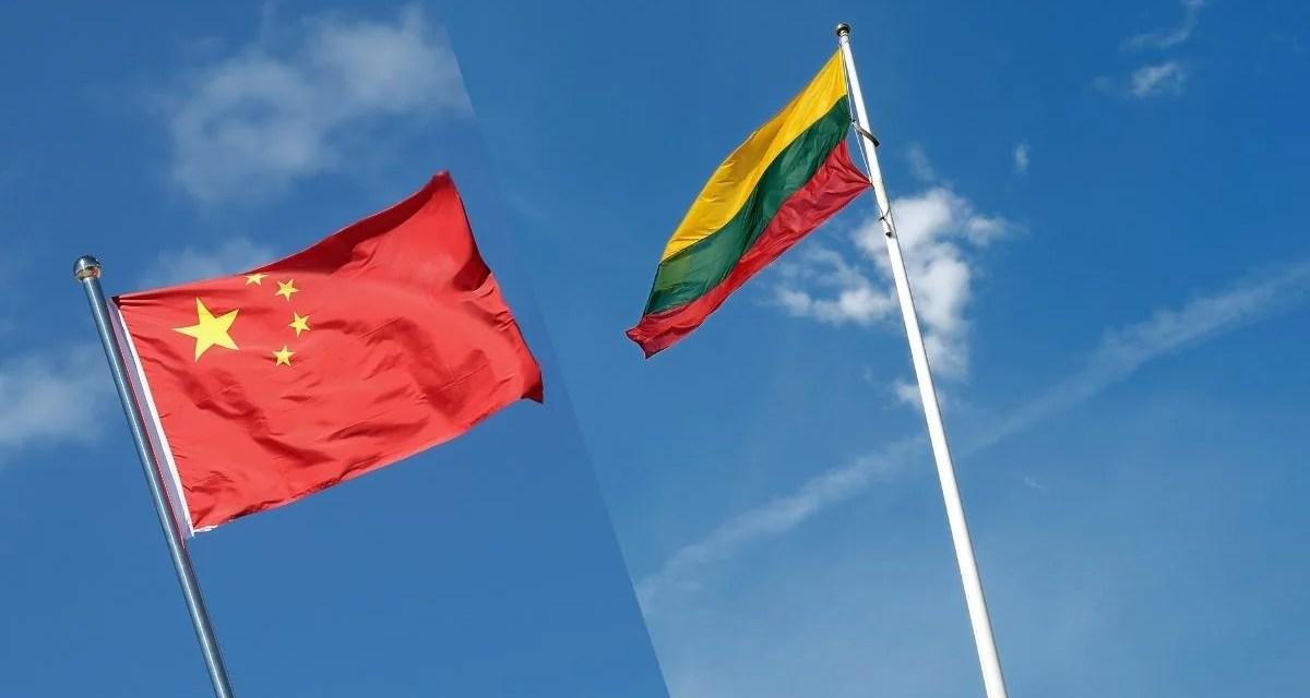 La tension entre la Chine et la Lituanie s'intensifie