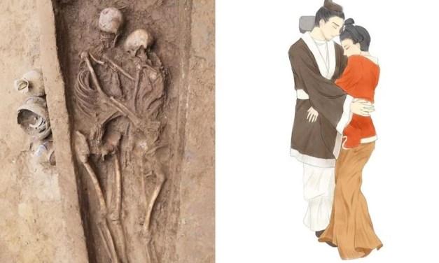 Un couple découvert mort il y a 1500 ans en Chine