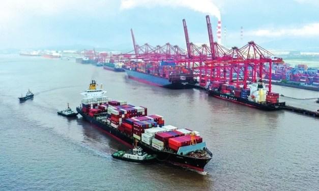 Covid-19 : la Chine met partiellement à l'arrêt l'un de ses plus grands ports