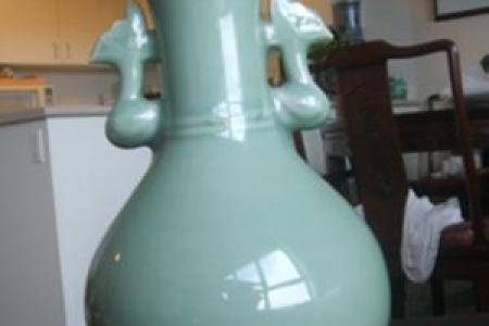Download Wallpaper Celadon Vase Ming Dynasty Full Wallpapers