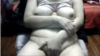 Chinese Granny with HUGE MONSTER TITTIES