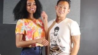 (SFW) Asian Men Kiss Black Women (AMBW)