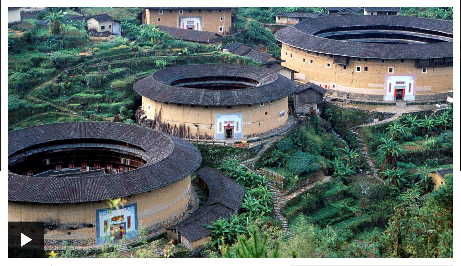 China's fortified Hakka Tulous Villages