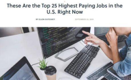 1573080891 25job - 最新美国工作收入排行 最赚钱25个职业列表