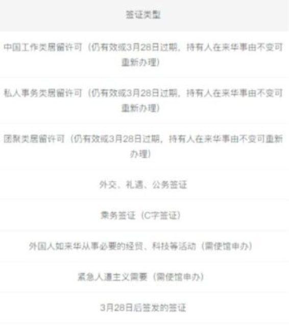 rj - 3类外国人可入境!详解中国新冠疫情最新入境规定