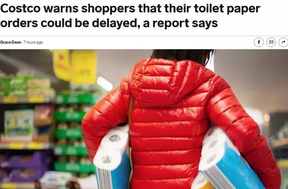Costco最新折扣及资讯:9月厕纸又短缺