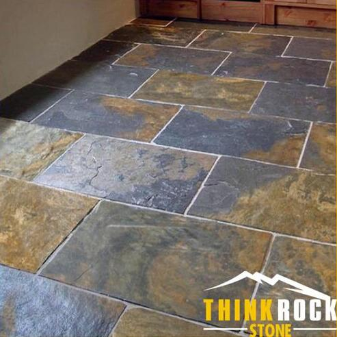 artificial rustic slate stacked stone
