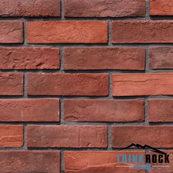 Antique Red Brick For Faux Brick Wall Panels Factory China