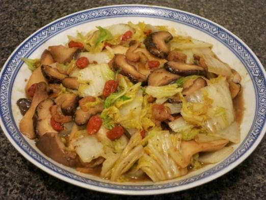 Chinese Cabbage Mushroom Recipe