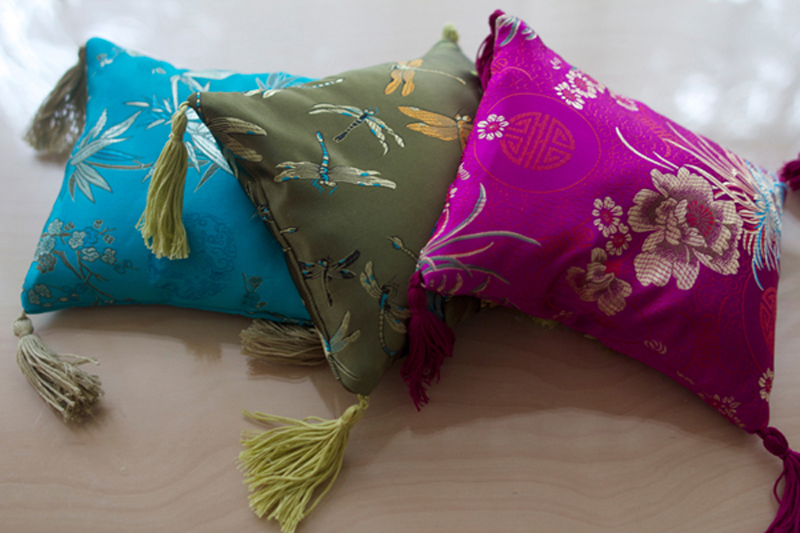 The Story of the Silk Cushions – New Product!