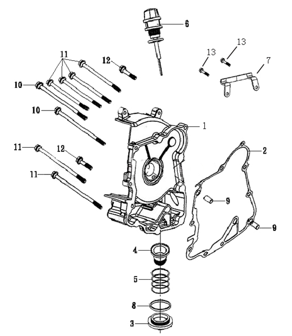 50cc Scooter Hose Diagram