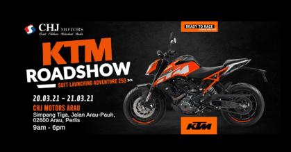 KTM Roadshow @ CHJ Motors Arau