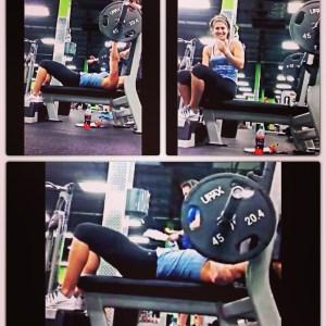 135 pound bench press