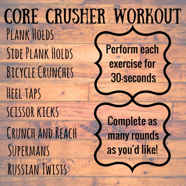 core crusher ab workout