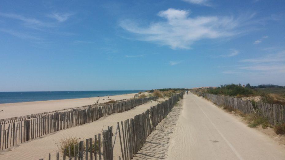 La camminata tra Sète e Adge
