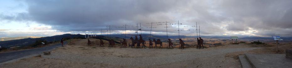 L'Alto del Perdon, una meta fondamentale del Cammino verso Santiago