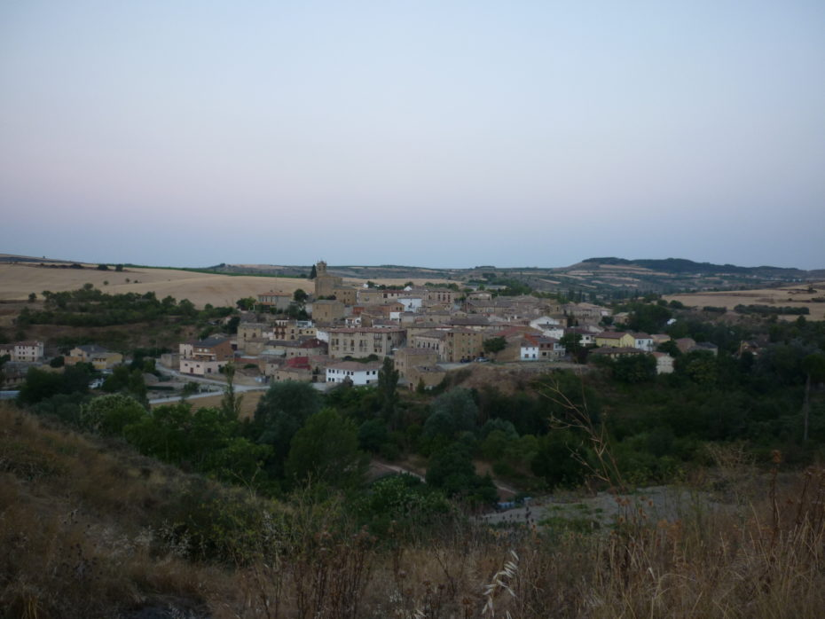 Torre del Rio, primo paese tra Sansol e