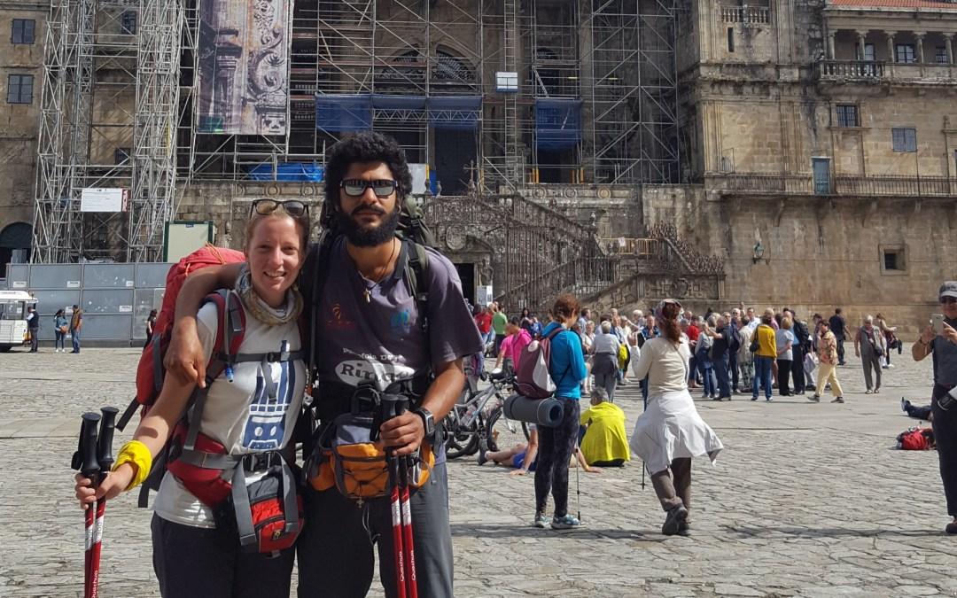L'arrivo a Santiago de Compostela e i 4 giorni precedenti