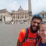 Arrivati a Roma!