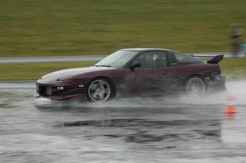 CR180sx Drift quer