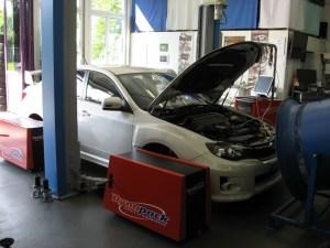 Subaru STI My2011 CRTEK 2 Ecutek Invidia