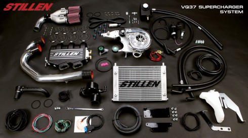 Nissan 370Z Supercharger - Chip-Racing