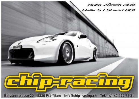 Chip-Racing an der Auto Zürich 2011 mit Nissan 370Z