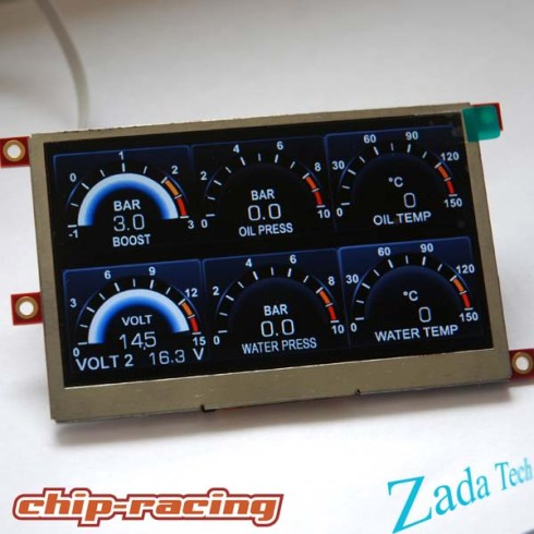 "Zada Tech 6"" Display"